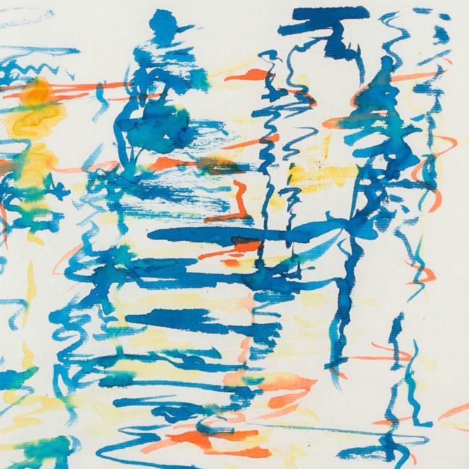 Original Abstract Art by Yiyan Zhou