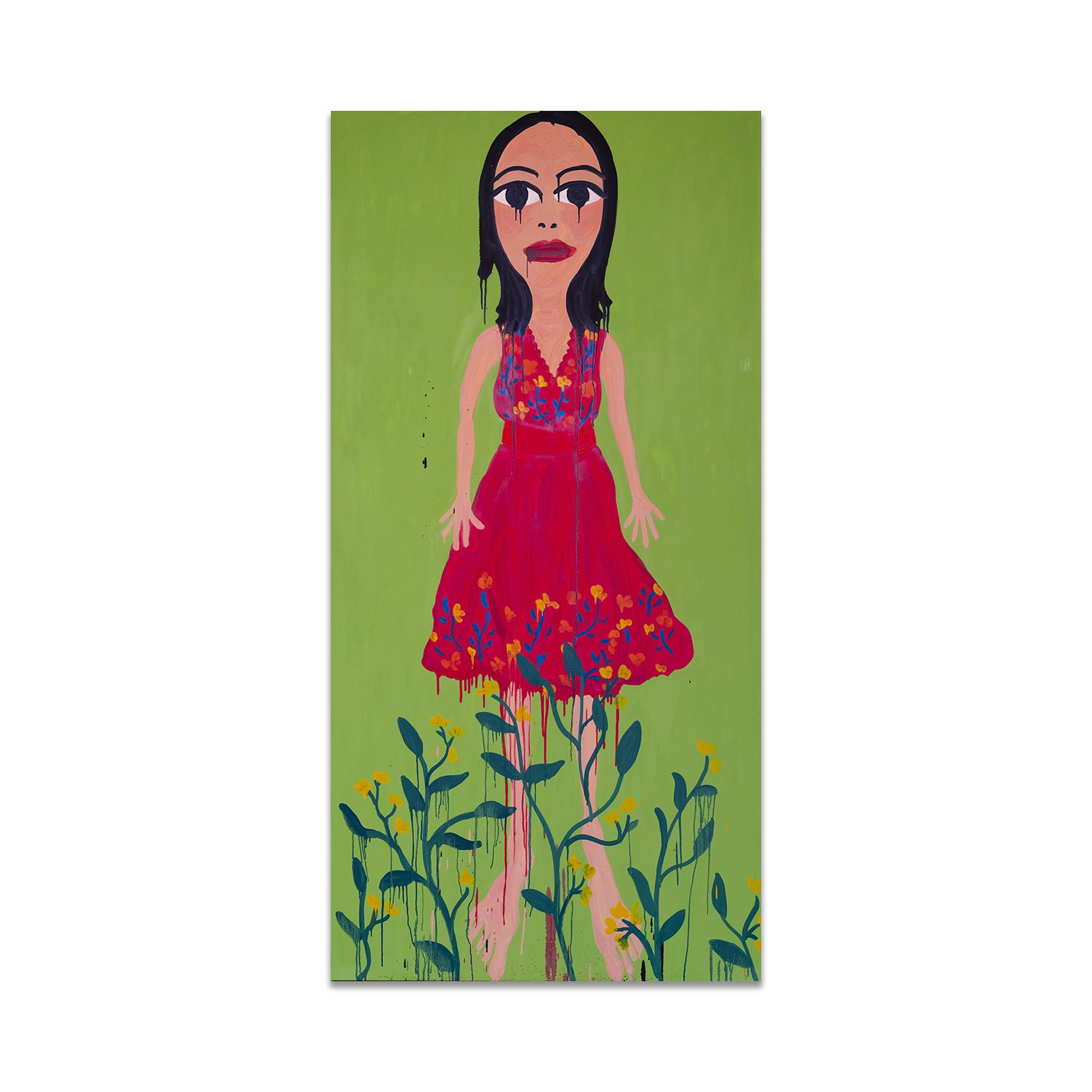 Oil Painting Abigail Phanggungfook