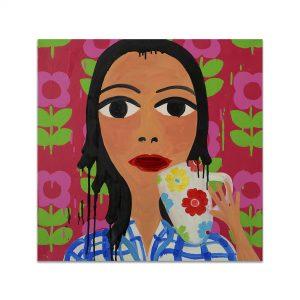 Portrait Painting Abigail Phanggungfook