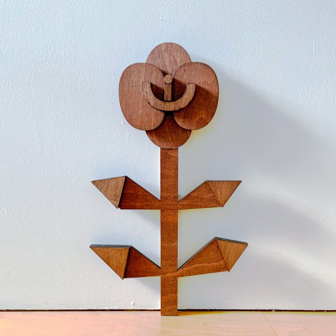 Wooden Sculpture by Sophie Rawlingson