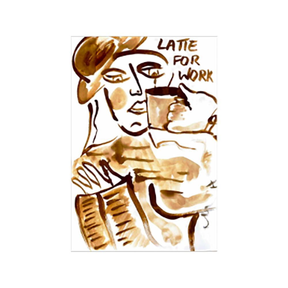Coffee Artwork by Jemima Sara
